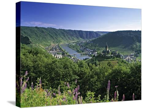 Cochem, Mosel Valley, Rheinland-Palatinate, Germany-Gavin Hellier-Stretched Canvas Print