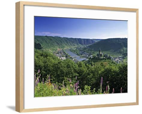 Cochem, Mosel Valley, Rheinland-Palatinate, Germany-Gavin Hellier-Framed Art Print
