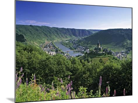 Cochem, Mosel Valley, Rheinland-Palatinate, Germany-Gavin Hellier-Mounted Photographic Print