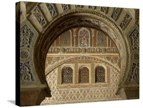 Alcazar, Seville, Spain-Alan Copson-Stretched Canvas Print