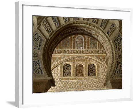 Alcazar, Seville, Spain-Alan Copson-Framed Art Print