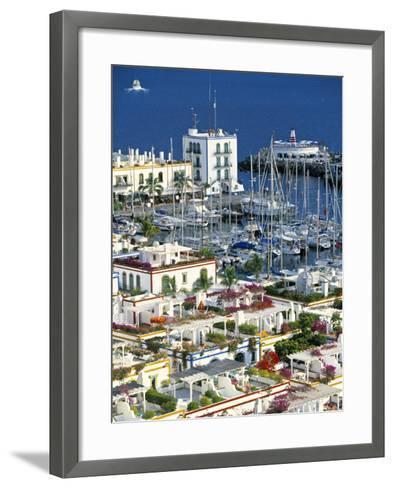 Puerto de Mogan, Gran Canaria, Canary Islands, Spain-Peter Adams-Framed Art Print