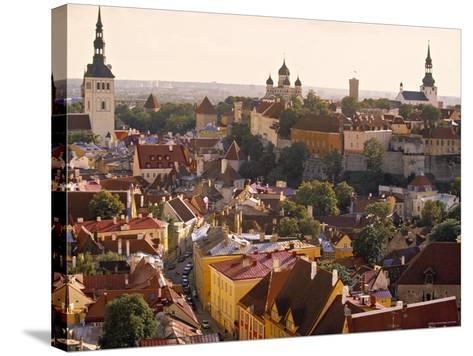 Tallinn, Estonia-Peter Adams-Stretched Canvas Print