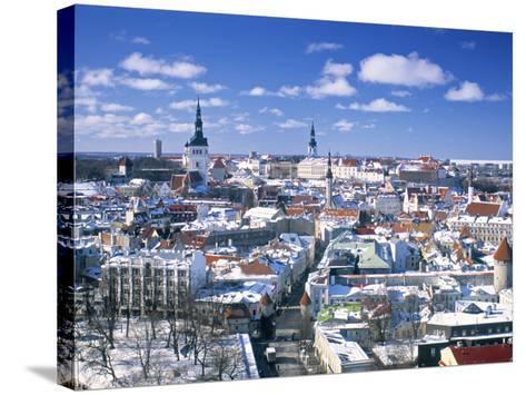 Tallinn, Estonia-Gavin Hellier-Stretched Canvas Print