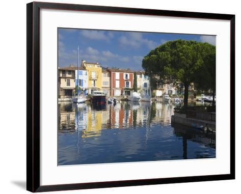 Port Grimaud, Nr St Tropez, Cote d'Azur, France-Peter Adams-Framed Art Print