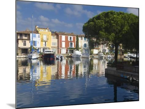 Port Grimaud, Nr St Tropez, Cote d'Azur, France-Peter Adams-Mounted Photographic Print