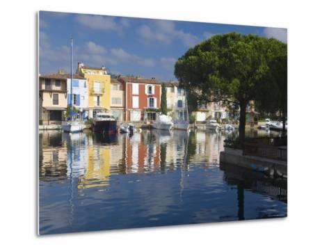 Port Grimaud, Nr St Tropez, Cote d'Azur, France-Peter Adams-Metal Print