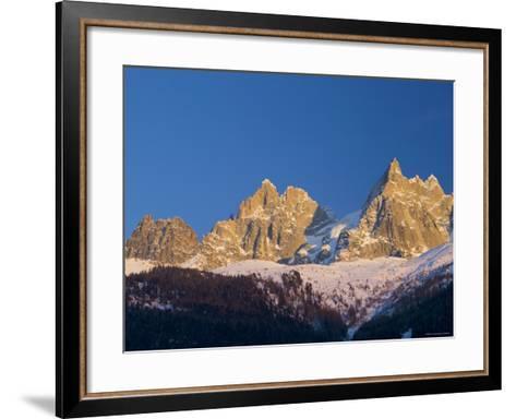 Aiguille du Midi, Chamonix, Haute Savoie, France-Walter Bibikow-Framed Art Print