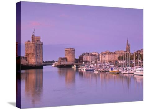 Old Harbour, La Rochelle, Poitou Charentes, France-Doug Pearson-Stretched Canvas Print