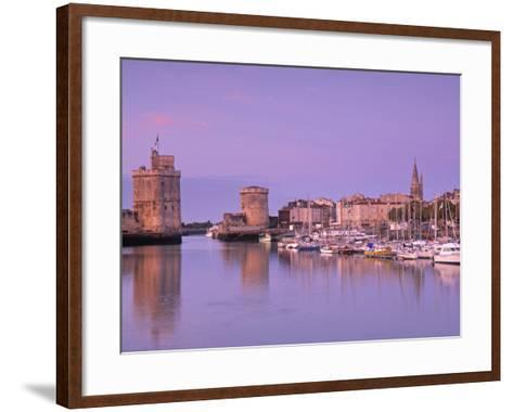Old Harbour, La Rochelle, Poitou Charentes, France-Doug Pearson-Framed Art Print