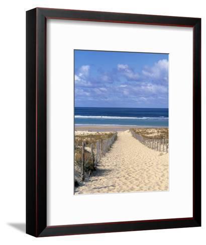 Cape Ferret, Basin d'Arcachon, Gironde, Aquitaine, France-Doug Pearson-Framed Art Print