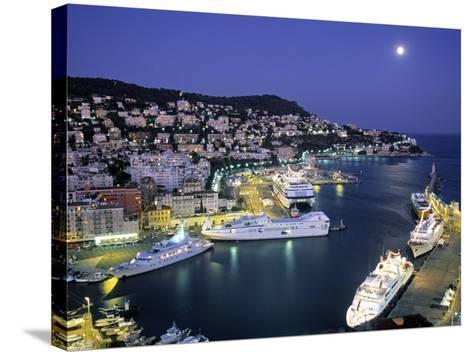 Old Port, Nice, Cote d'Azur, France-Demetrio Carrasco-Stretched Canvas Print