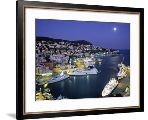 Old Port, Nice, Cote d'Azur, France-Demetrio Carrasco-Framed Art Print