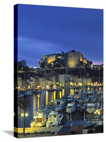Bonifacio, Corsica, France-Doug Pearson-Stretched Canvas Print