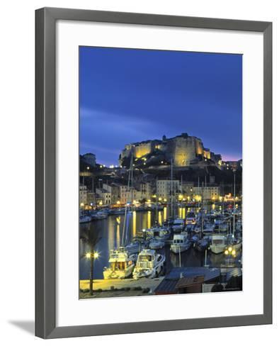 Bonifacio, Corsica, France-Doug Pearson-Framed Art Print