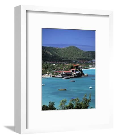 Eden Roc Hotel, St. Jean, St. Barts, French West Indes-Walter Bibikow-Framed Art Print