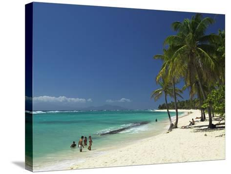 Capesterre, Galante Island, Guadeloupe, French West Indies-Walter Bibikow-Stretched Canvas Print