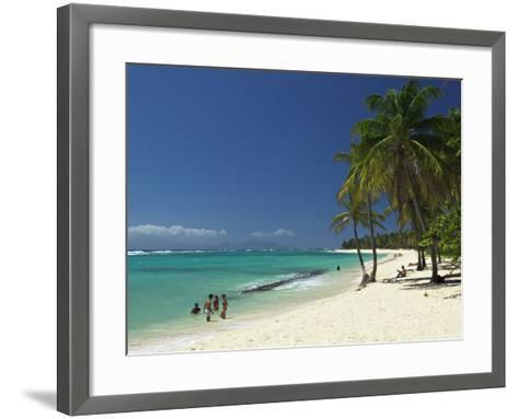 Capesterre, Galante Island, Guadeloupe, French West Indies-Walter Bibikow-Framed Art Print