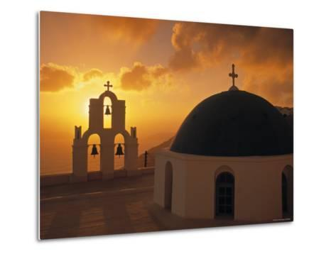 Kimis Theotokov Church, Santorini, Cyclades Islands, Greece-Walter Bibikow-Metal Print