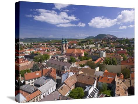 Eger, Bukk Hills, Northern Uplands, Hungary-Walter Bibikow-Stretched Canvas Print