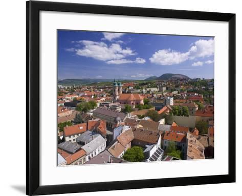 Eger, Bukk Hills, Northern Uplands, Hungary-Walter Bibikow-Framed Art Print