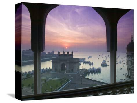 Gateway of India, Mumbai, India-Walter Bibikow-Stretched Canvas Print