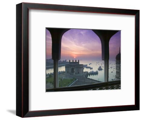 Gateway of India, Mumbai, India-Walter Bibikow-Framed Art Print