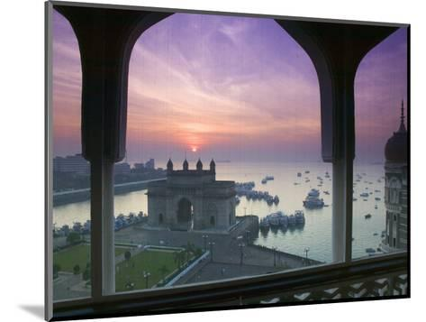 Gateway of India, Mumbai, India-Walter Bibikow-Mounted Photographic Print