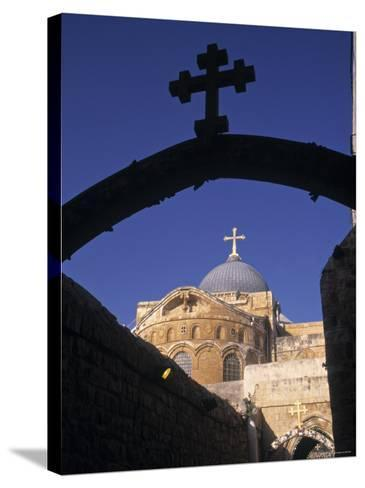 Church of the Holy Sepulchre, Jerusalem, Israel-Jon Arnold-Stretched Canvas Print