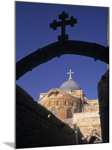 Church of the Holy Sepulchre, Jerusalem, Israel-Jon Arnold-Mounted Photographic Print