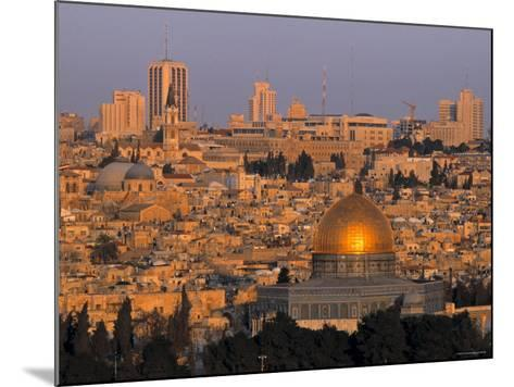 Dome of the Rock, Old City, Jeruslaem, Israel-Jon Arnold-Mounted Photographic Print