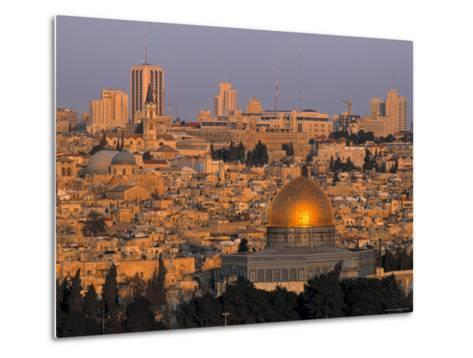 Dome of the Rock, Old City, Jeruslaem, Israel-Jon Arnold-Metal Print
