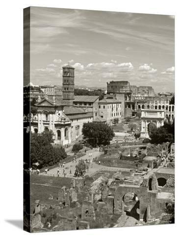 Roman Forum, Rome, Lazio, Italy-Doug Pearson-Stretched Canvas Print
