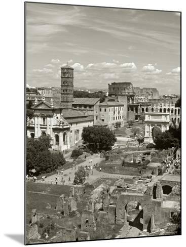 Roman Forum, Rome, Lazio, Italy-Doug Pearson-Mounted Photographic Print