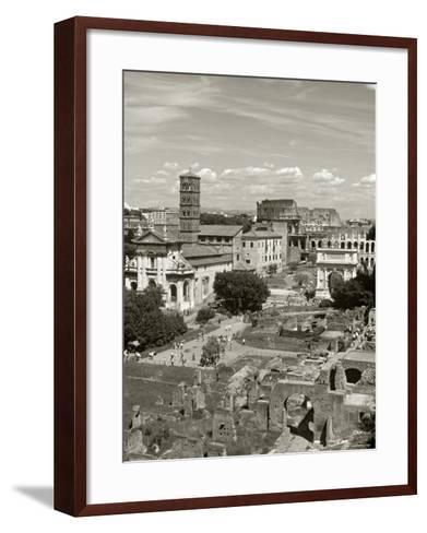 Roman Forum, Rome, Lazio, Italy-Doug Pearson-Framed Art Print