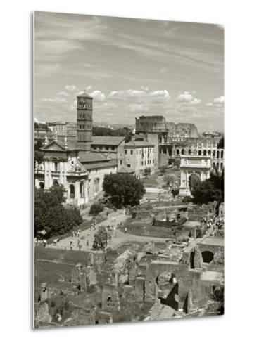 Roman Forum, Rome, Lazio, Italy-Doug Pearson-Metal Print