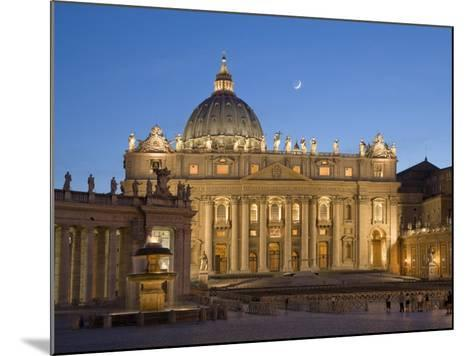 St. Peter's Basilica, the Vatican, Rome, Italy-Michele Falzone-Mounted Photographic Print