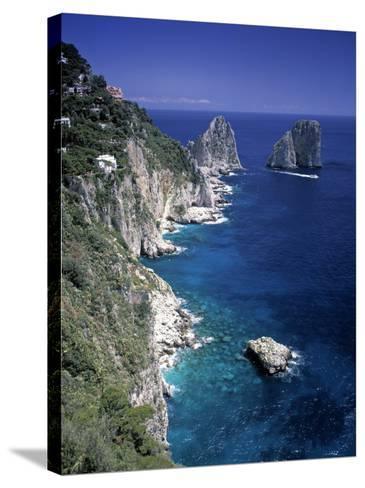 Faraglioni Rocks, Capri, Bay of Naples, Itlay-Gavin Hellier-Stretched Canvas Print