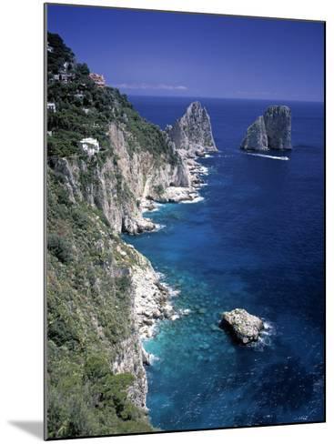 Faraglioni Rocks, Capri, Bay of Naples, Itlay-Gavin Hellier-Mounted Photographic Print