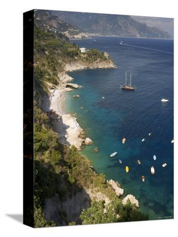 Positano, Amalfi Coast, Italy-Peter Adams-Stretched Canvas Print