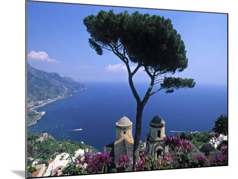 Villa Rufolo, Ravello, Amalfi Coast, Italy-Demetrio Carrasco-Mounted Photographic Print