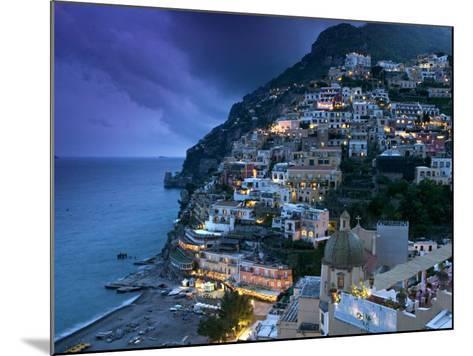 Positano, Amalfi Coast, Italy-Walter Bibikow-Mounted Photographic Print