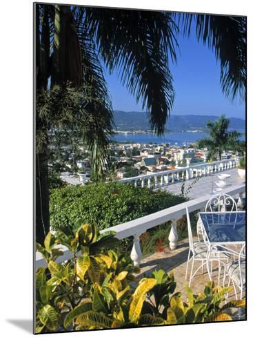 View over Montego Bay, Jamaica-Doug Pearson-Mounted Photographic Print