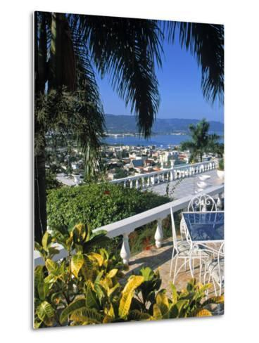 View over Montego Bay, Jamaica-Doug Pearson-Metal Print