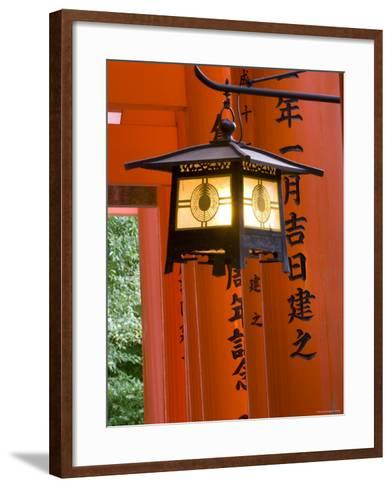 Red Torii Gates, Fushimi Inari Taisha Shrine, Kyoto, Japan-Gavin Hellier-Framed Art Print