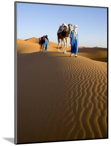 Merzouga, Erg Chebbi, Sahara Desert, Morocco-Gavin Hellier-Mounted Photographic Print