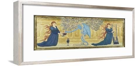 The Garden of the Hesperides, c.1880-81-Edward Burne-Jones-Framed Art Print