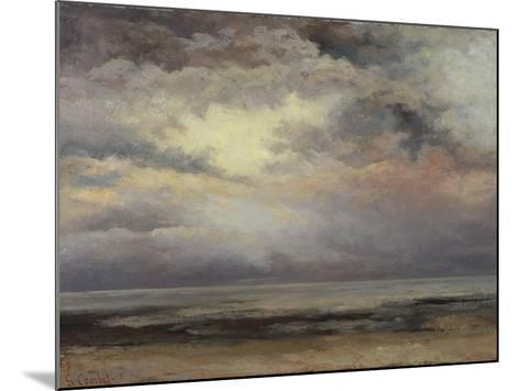 L'Immensite, c.1869-Gustave Courbet-Mounted Giclee Print