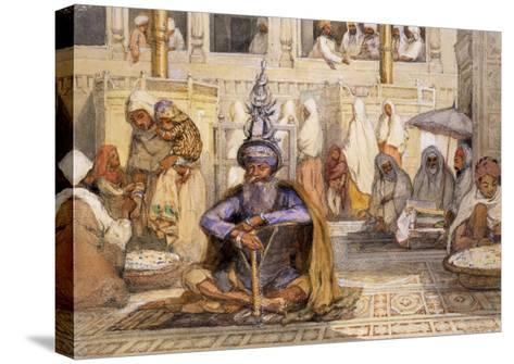 Akali Sikh-William Carpenter-Stretched Canvas Print