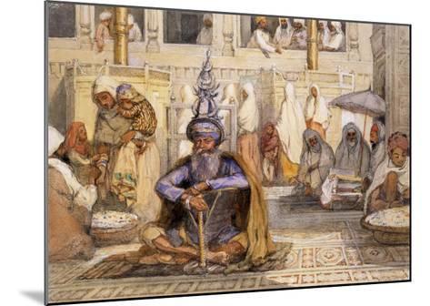 Akali Sikh-William Carpenter-Mounted Giclee Print